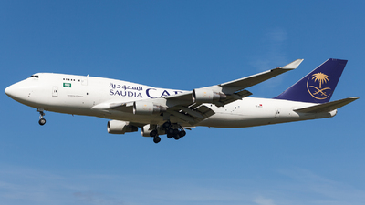 TC-ACJ - Boeing 747-433(BDSF) - Saudi Arabian Airlines Cargo (ACT Airlines)