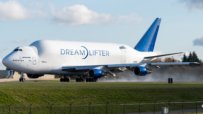 A picture of N249BA - Boeing 747409(LCF) Dreamlifter - Boeing - © Nick Sheeder