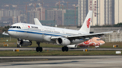 B-6825 - Airbus A321-232 - Air China