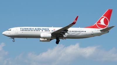 TC-JVF - Boeing 737-8F2 - Turkish Airlines