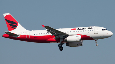 TC-JLR - Airbus A319-132 - Air Albania (Turkish Airlines)