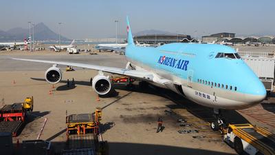 HL7636 - Boeing 747-8B5 - Korean Air