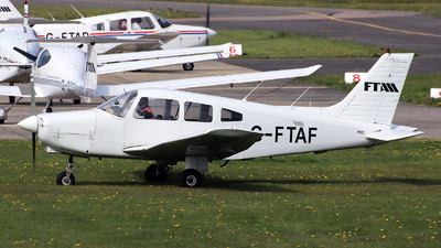 G-FTAF - Piper PA-28-161 Cherokee Warrior II - Flying Time