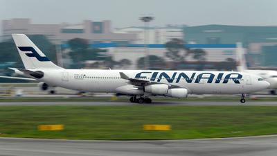 OH-LQF - Airbus A340-313X - Finnair