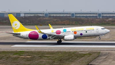 A picture of B6989 - Boeing 73786N - 9 Air - © Sweet Potato