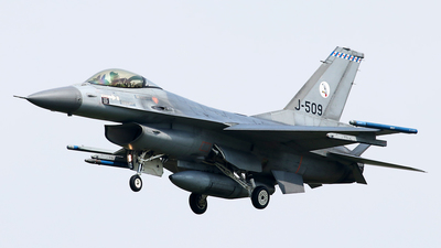 J-509 - General Dynamics F-16AM Fighting Falcon - Netherlands - Royal Air Force
