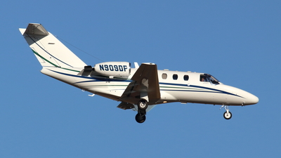 N909DP - Cessna 525 CitationJet 1 - Private