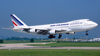 F-GCBD - Boeing 747-228B(SF) - Air France Cargo