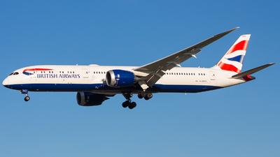A picture of GZBKH - Boeing 7879 Dreamliner - British Airways - © Nicholas Hesler