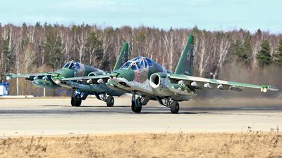 RF-92274 - Sukhoi Su-25BM Frogfoot - Russia - Air Force