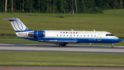 N828AS - Bombardier CRJ-200ER - United Express (Atlantic Southeast Airlines)