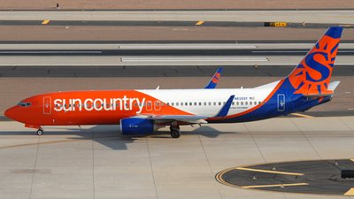 N835SY - Boeing 737-8KN - Sun Country Airlines