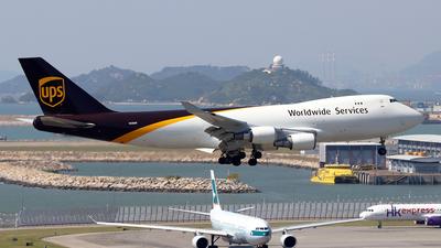 N580UP - Boeing 747-428F(SCD) - United Parcel Service (UPS)