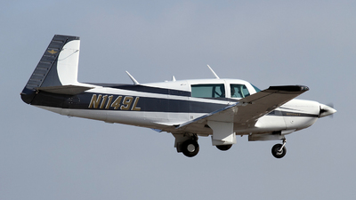 N1149L - Mooney M20K - Private