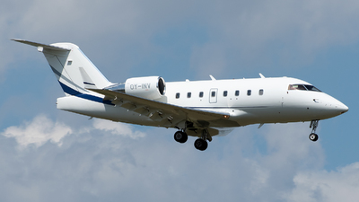 A picture of OYINV - Bombardier Challenger 604 - Flexflight - © sas1965