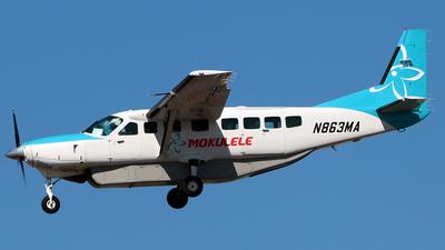 N863MA - Cessna 208B Grand Caravan - Mokulele Airlines