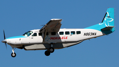 A picture of N863MA - Cessna 208B Grand Caravan - Airpac Airlines - © Diego Mancilla.
