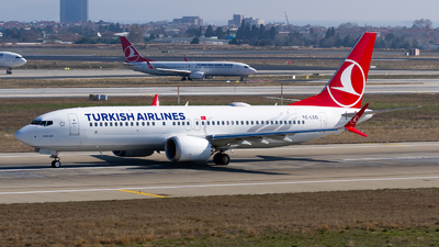 TC-LCG - Boeing 737-8 MAX - Turkish Airlines