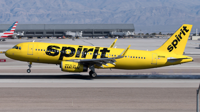 A picture of N644NK - Airbus A320214 - Spirit Airlines - © Yixin Chen