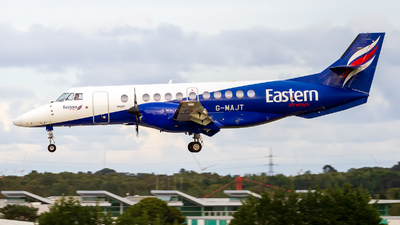A picture of GMAJT - BAe Jetstream 41 - Eastern Airways - © Ethan Hew - p_nilly