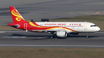 B-LPJ - Airbus A320-214 - Hong Kong Airlines