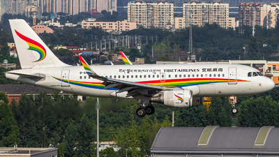 A picture of B6441 - Airbus A319115 - Tibet Airlines - © SINO6702