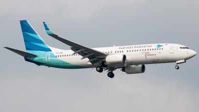 PK-GMA - Boeing 737-8U3 - Garuda Indonesia