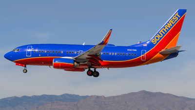 N467WN - Boeing 737-7H4 - Southwest Airlines