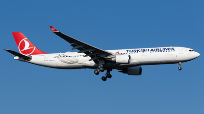 TC-JOB - Airbus A330-303 - Turkish Airlines