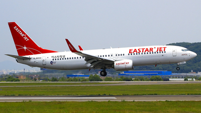 HL8053 - Boeing 737-86J - Eastar Jet