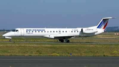F-GUMA - Embraer ERJ-145MP - Air France (Régional Compagnie Aerienne)