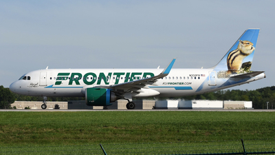 A picture of N332FR - Airbus A320251N - Frontier Airlines - © DJ Reed - OPShots Photo Team