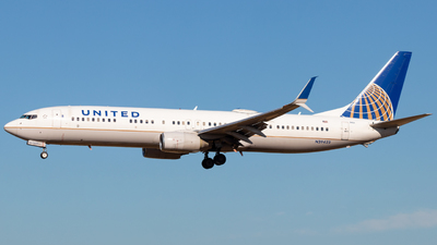 N39423 - Boeing 737-924ER - United Airlines