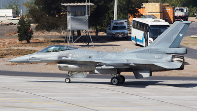 851 - General Dynamics F-16C Fighting Falcon - Chile - Air Force