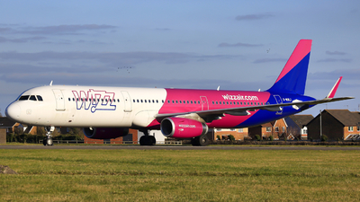 G-WUKJ - Airbus A321-231 - Wizz Air UK