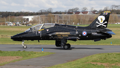 XX285 - British Aerospace Hawk T.1A - United Kingdom - Royal Navy