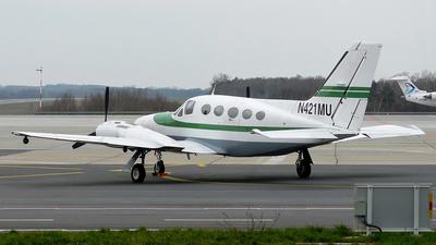 A picture of N421MU - Cessna 421C Golden Eagle - [421C0248] - © Mikołaj Lech