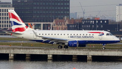 G-LCYI - Embraer 170-100STD - BA CityFlyer