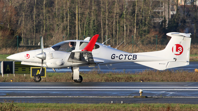 G-CTCB - Diamond DA-42 Twin Star - L3 European Airline Academy