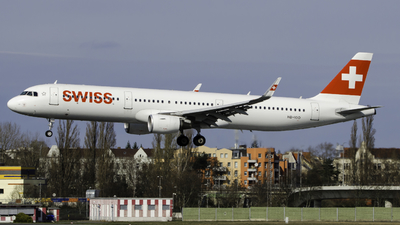 A picture of HBIOO - Airbus A321212 - Swiss - © Theo Möhle