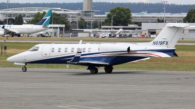 A picture of N619FX - Learjet 40 - Flexjet - © Willy Dahmen