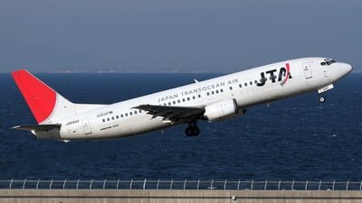 JA8940 - Boeing 737-4Q3 - Japan TransOcean Air (JTA)