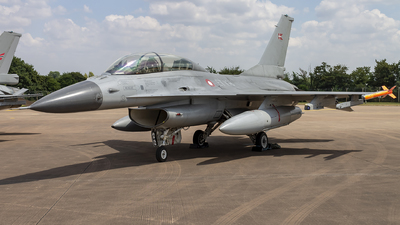 ET-198 - General Dynamics F-16BM Fighting Falcon - Denmark - Air Force