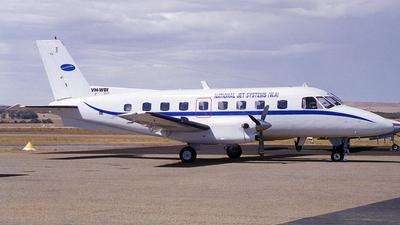 VH-WBI - Embraer EMB-110P2 Bandeirante - National Jet Systems (NJS)