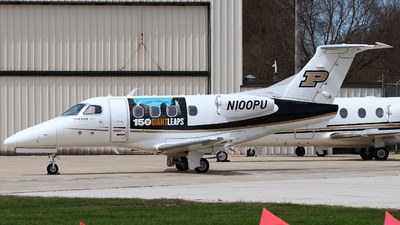 N100PU - Embraer 500 Phenom 100 - Purdue University