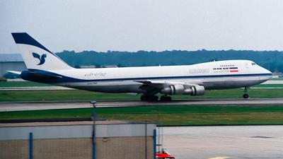 EP-ICA - Boeing 747-2J9F(SCD) - Iran Air Cargo