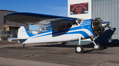 N1558D - Cessna 195 - Private