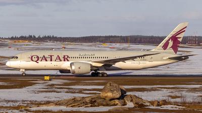 A picture of A7BCG - Boeing 7878 Dreamliner - Qatar Airways - © Nummela_spotter