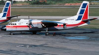 CU-T1267 - Antonov An-24 - Cubana de Aviación
