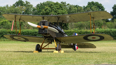 G-EBIA - Royal Aircraft Factory S.E.5a - Private